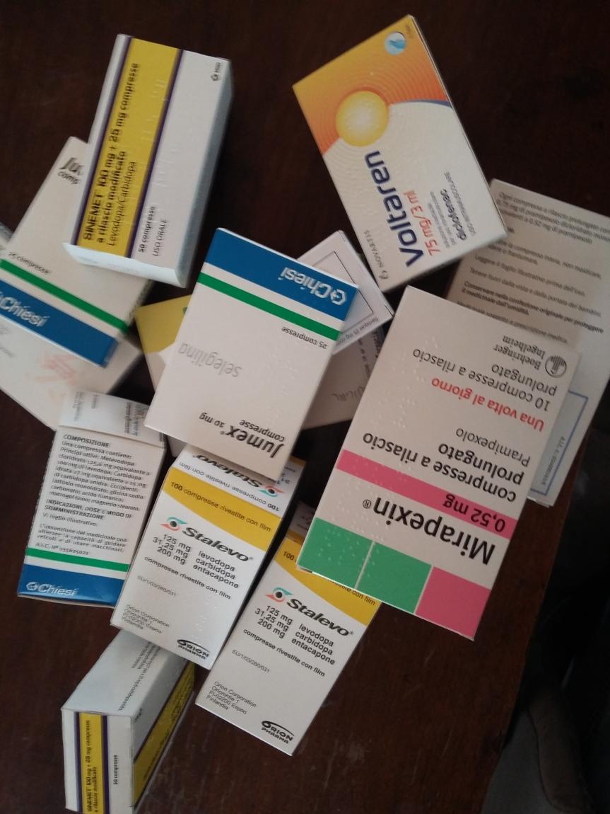 Facciamo pace con le medicine per ilParkinson