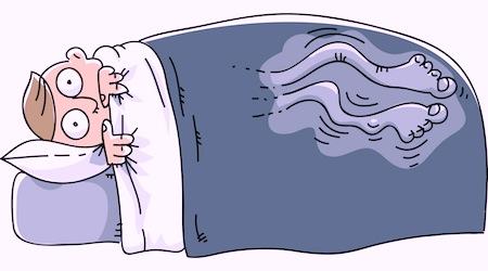 I crampi notturni alle gambe : esiste una soluzione sana, gratuita e con efficaciaimmediata.